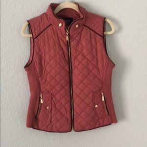 Pink dressy vest